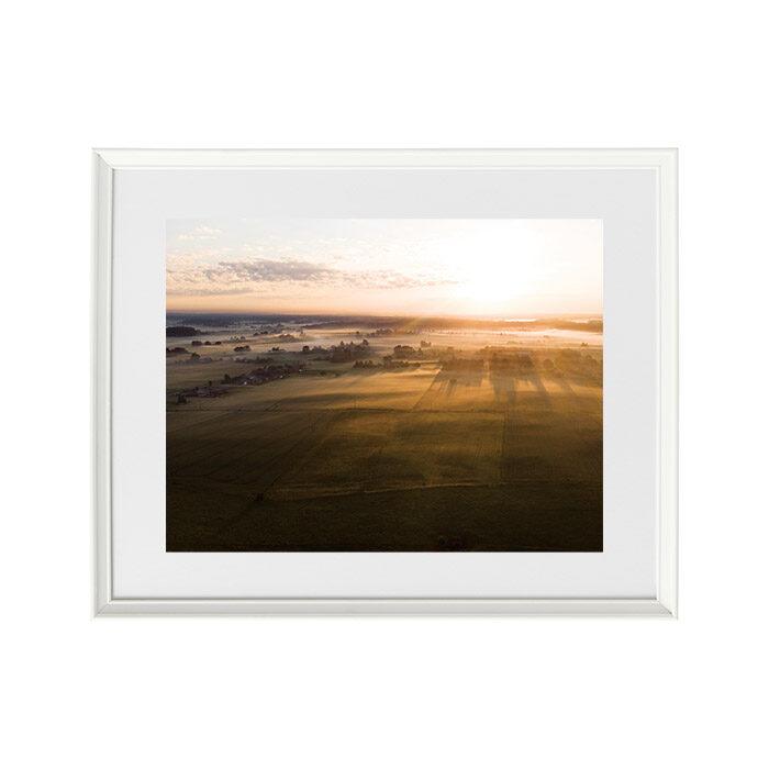 Foto glezna Vasaras rīts