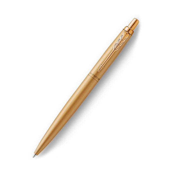 Pildspalva PARKER JOTTER gold ar maciņu kastītē