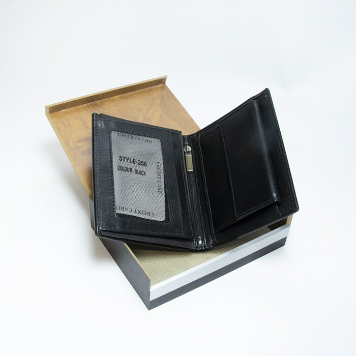 Ādas maks BEN dāvanu kastītē