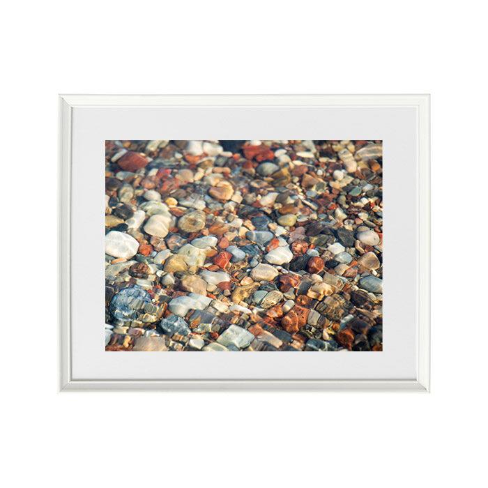 Foto glezna Akmeņi ūdenī