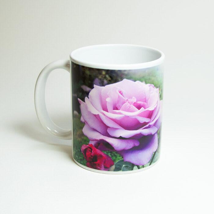 Krūze ar apdruku Rozes smarža