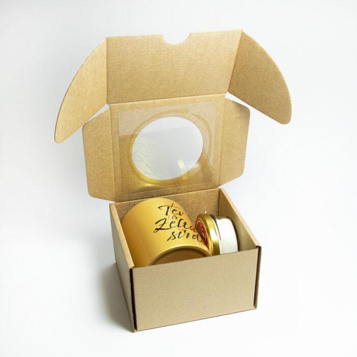 Dāvanu komplekts Zelta sirds (matēta)