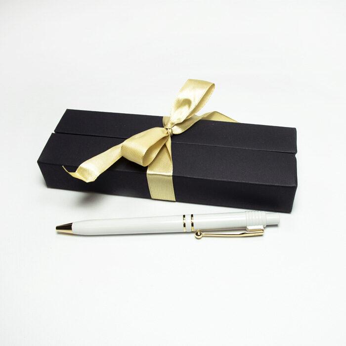 Pildspalva RAJA ar krāsainu apdruku dāvanu kastītē