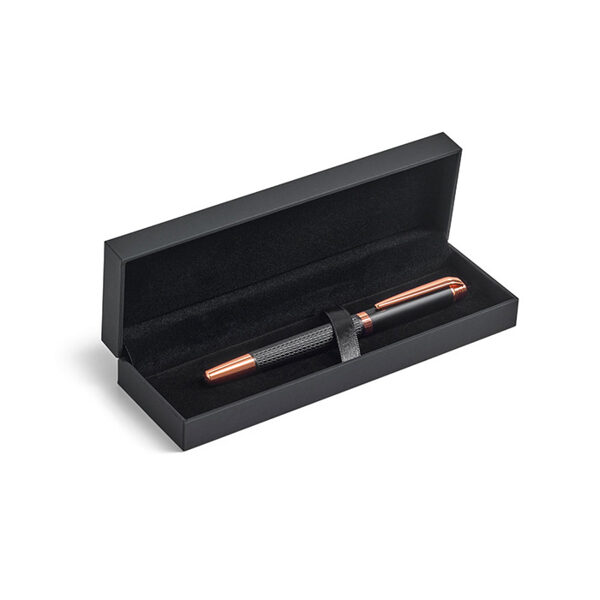 Eleganta metāla pildspalva kastītē