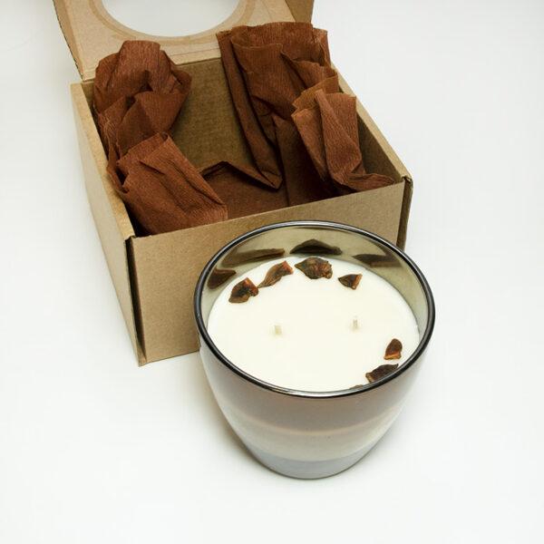 Sojas vaska svece ar piparkūku aromātu